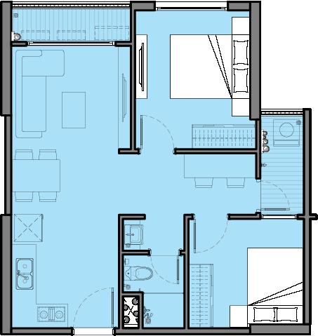 Căn hộ CH03 – Tòa C2
